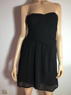 Mango Kleid Gr. L Schwarz schwarzes kurz kurzes kleines Schwarzes Mini