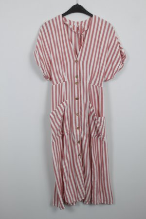 Mango Kleid Gr. M rot weiß (18/7/182)