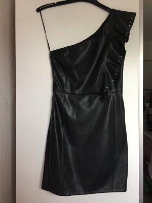 Mango Kleid Kunstleider Gr. 34 NEU mit Etikett