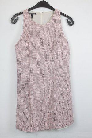 Mango Kleid Minikleid Gr. M rosa, schwarz, weiß gemustert (18/6/373)