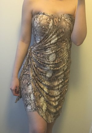 Mango Kleid mit Animal Print
