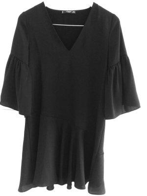Mango Midi Dress black