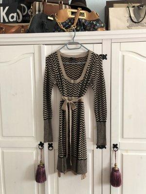 Mango Kleid Schwarz Gold  wie neu