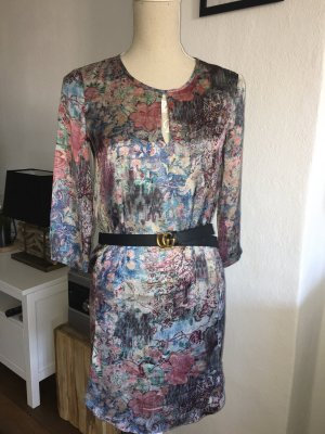 Mango collection Tunic Dress multicolored polyester