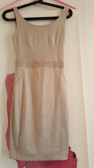 Mango Kleid XS Gold/Beige