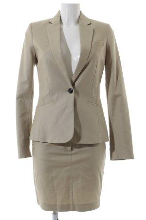 Mango Kostüm beige Business-Look