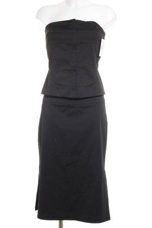 Mango Kostüm schwarz klassischer Stil