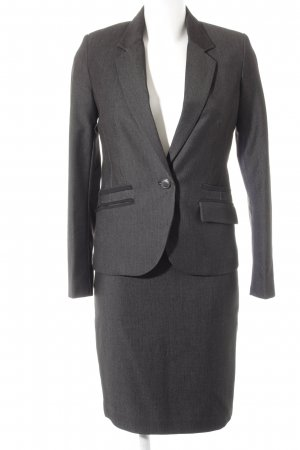 Mango Ladies' Suit black-white flecked business style