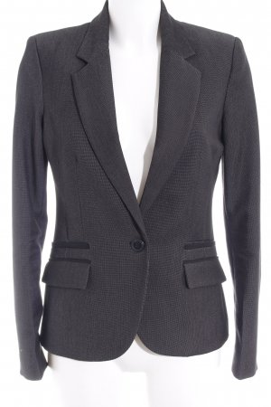 Mango Kurz-Blazer anthrazit Business-Look