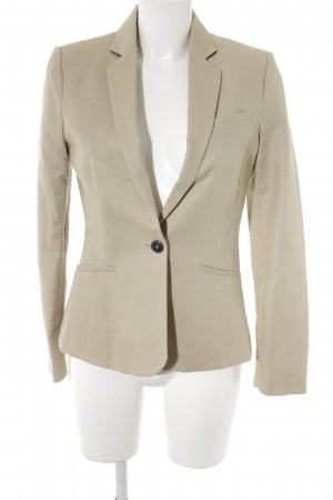 Mango Kurz-Blazer beige Business-Look