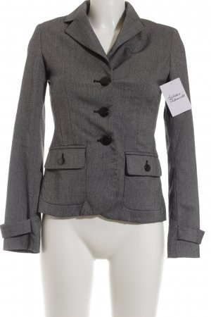 Mango Kurz-Blazer grau Business-Look