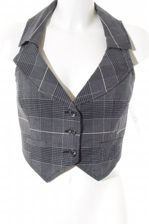 Mango Short Blazer check pattern casual look
