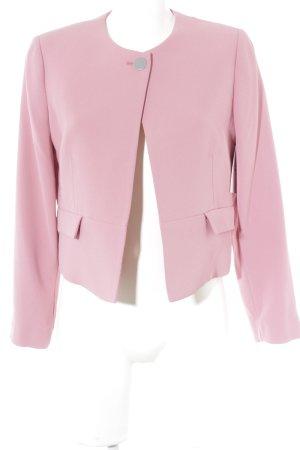 Mango Kurz-Blazer rosa Elegant
