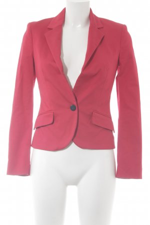 Mango Kurz-Blazer rot Business-Look