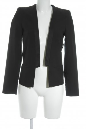 Mango Kurz-Blazer schwarz Business-Look