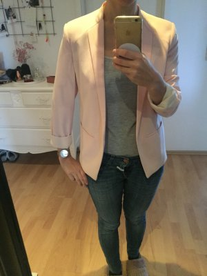 Mango Kurz Jacket in Hellrosa