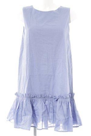 Mango Kurzarmkleid himmelblau Romantik-Look