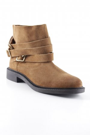 Mango Short Boots light brown casual look