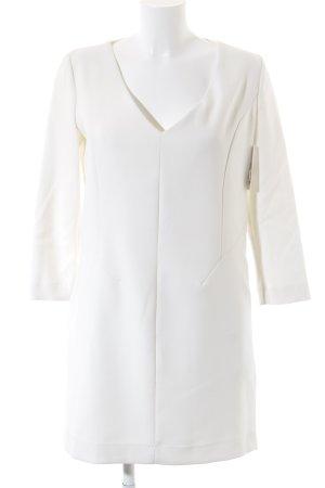Mango Vestido de manga larga crema-beige claro elegante