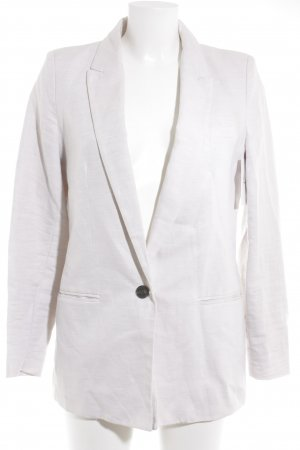 Mango Long-Blazer hellbeige Business-Look