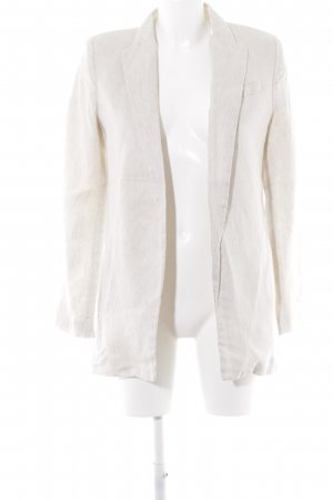 Mango Blazer long beige clair style d'affaires