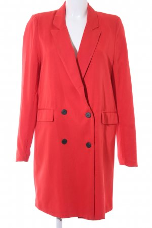 Mango Long Blazer red casual look