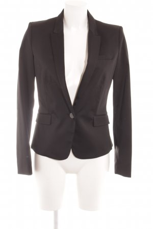Mango Blazer largo negro estilo «business»