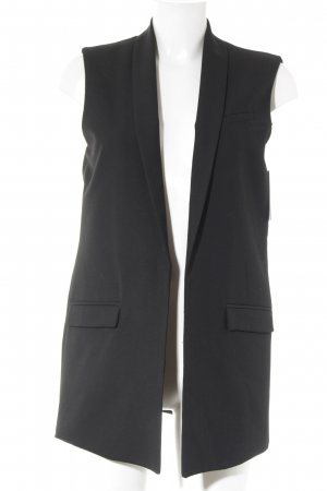 Mango Long-Blazer schwarz Business-Look