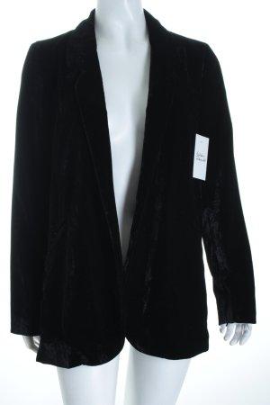 Mango Long-Blazer schwarz Elegant