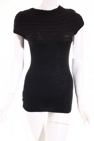 Mango Longtop schwarz Casual-Look