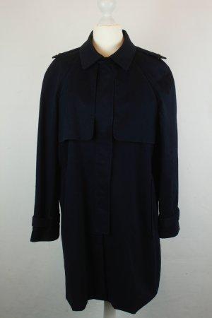 Mango Mantel Coat Kurzmantel Gr. M dunkelblau