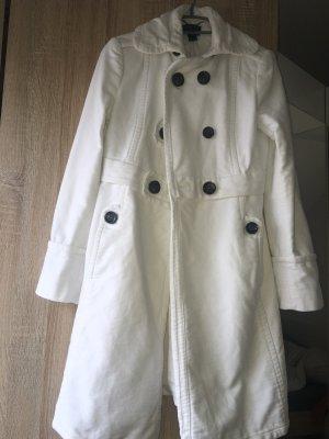 Mango Mantel in weiß