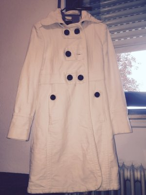 Mango Wool Coat white