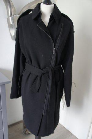 Mango Coat black