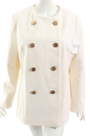 Mango Manteau d'hiver blanc cassé style classique
