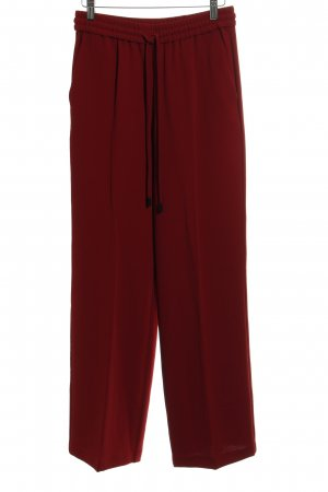 Mango Marlene Trousers dark red casual look