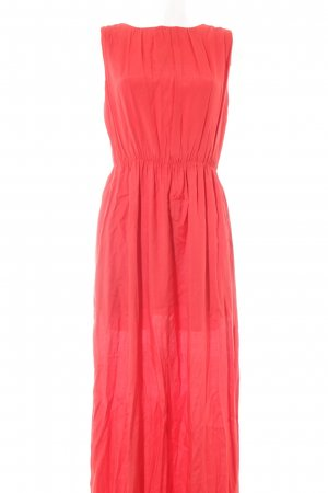 Mango Maxi Dress red casual look