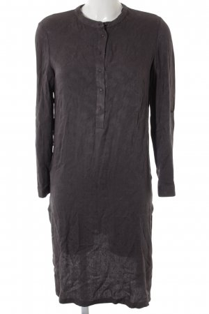 Mango Midi-jurk donkergrijs casual uitstraling