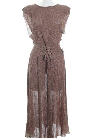 Mango Midi-jurk veelkleurig glitter-achtig