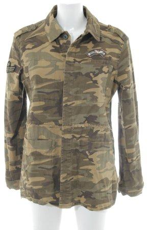 Mango Veste militaire motif de camouflage style militaire