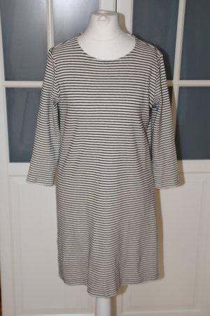 MANGO Minikleid, 60's, Streifen, Langarm Kleid, 36/S