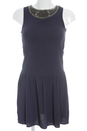 Mango Minikleid dunkelblau Street-Fashion-Look