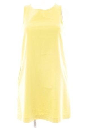 Mango Minikleid goldorange minimalistischer Stil