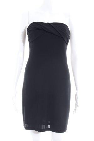 Mango Minikleid schwarz Elegant