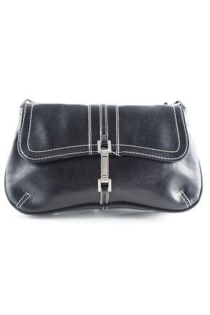 Mango Mini Bag black-white vintage look