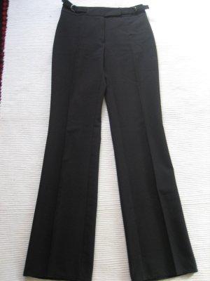 mango mng basic hose buerohose schwarz elegant neu gr 36 s