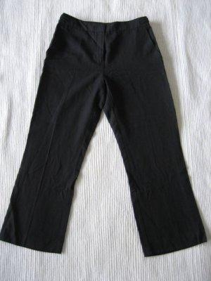 mango mng capri hose neu schwarz business gr 34 xs
