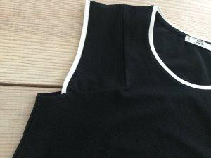 Mango MNG Casualwear Top in schwarz weiß Gr. S