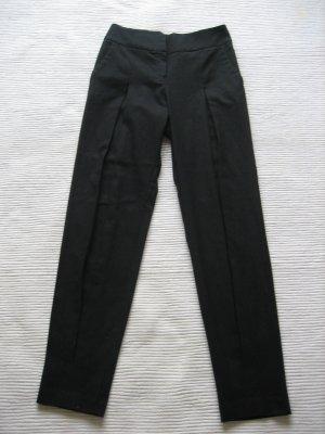 mango mng chinohose schwarz neuwertig gr. s 36