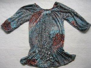 mango mng neue bluse bunt hipster hippie gr. xs